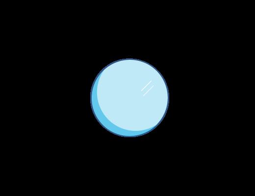 淡蓝色镜片