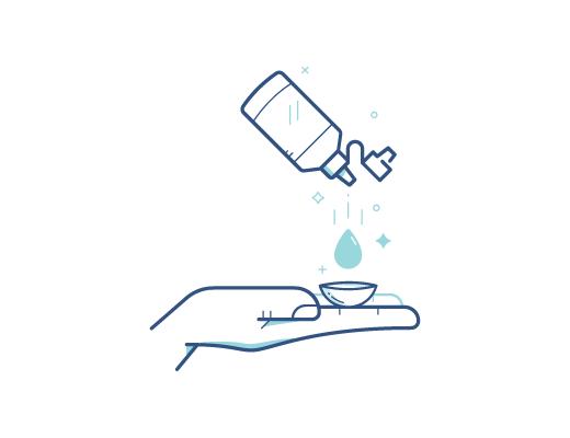 养成清洁与护理镜片的正确习惯